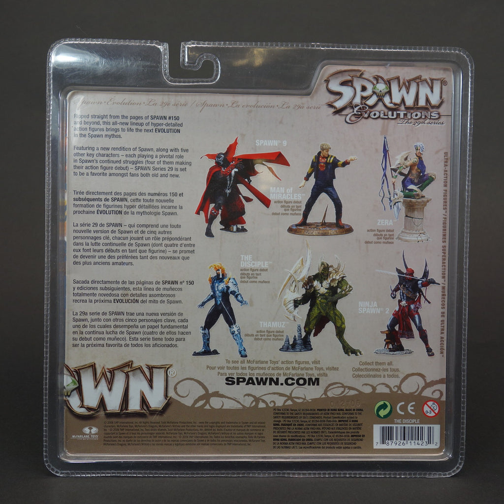McFarlane Spawn Evolutions The Disciple Action Figure 29th Series