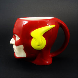 "DC Comics Zak  ""The Flash"" Ceramic Character Coffee Mug"