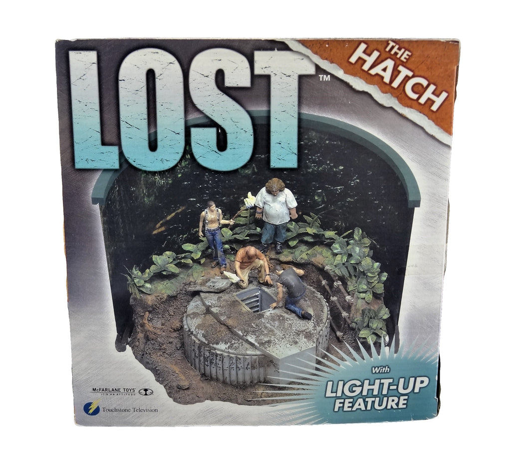 "ABC's LOST ""The Hatch"" Deluxe Mini-Diorama Boxed Set With Light-Up Feature"