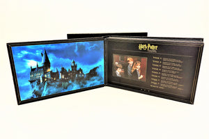 Album opened to first page showing Hogwarts Castle and Table of Contents