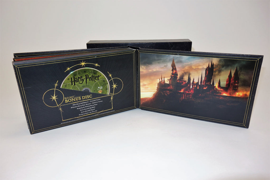 Harry Potter Movies Hogwarts Collection Complete 31 Disc DVD Box Set