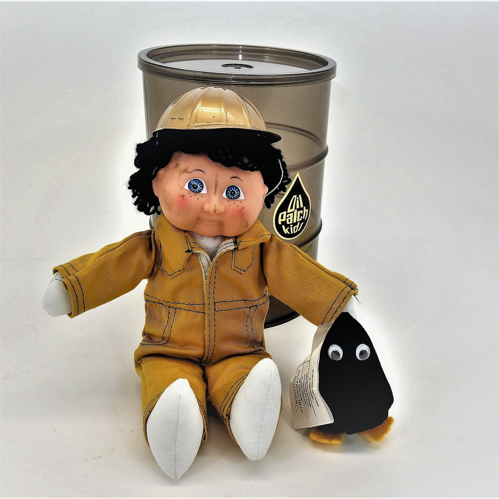 Oil Patch Kid OPK International With Plush Patch Pal 1985 Vintage Collectible