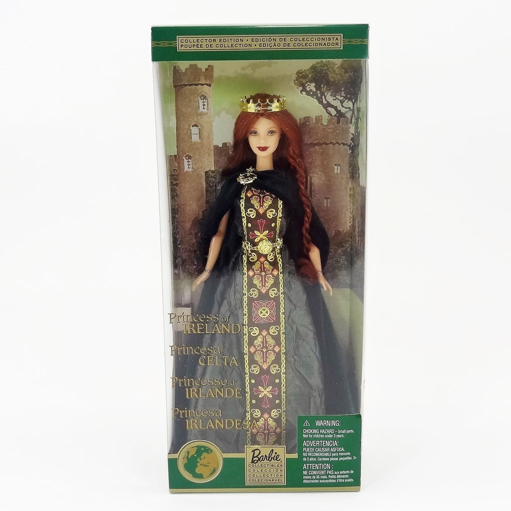 "Mattel Barbie Dolls of the World ""Princess of Ireland"" 2001 #53367 Collectors Edition"