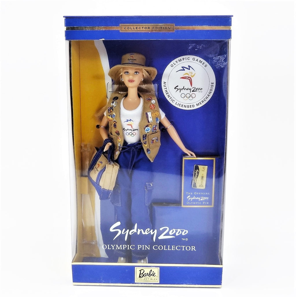 Mattel Barbie Sydney 2000 Olympic Pin Collector #25644 Collector Edition