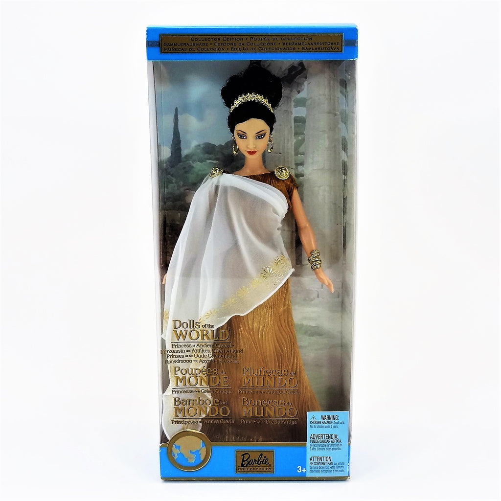 "Mattel Barbie Dolls of The World ""Princess of Ancient Greece"" 2003 #B3461 Collectors Edition"