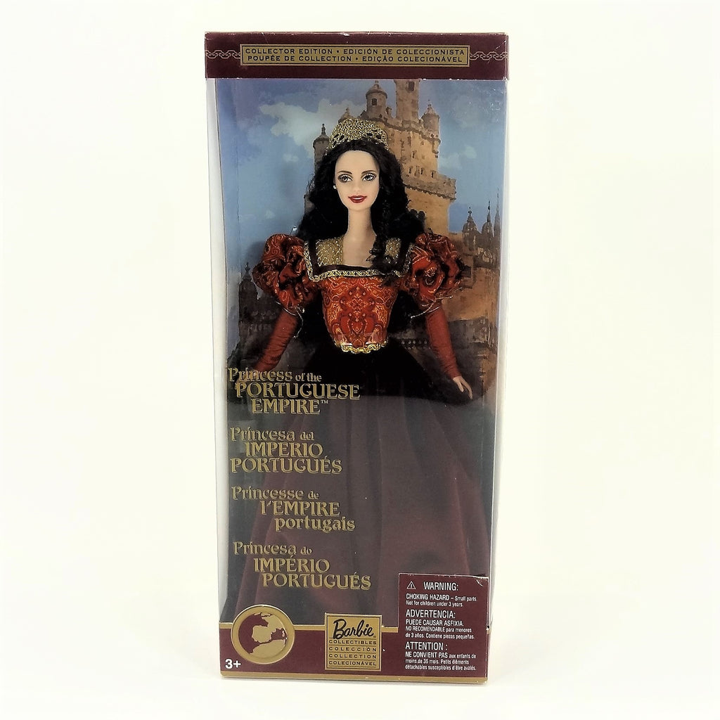 "Mattel Barbie Dolls of The World ""Princess of The Portuguese Empire"" 2002 #56217 Collectors Edition"