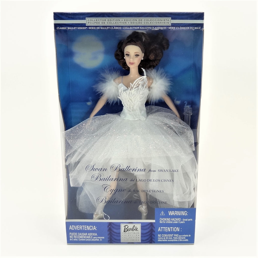 "Mattel Barbie Classic Ballet Series ""Swan Ballerina"" From Swan Lake 2002 #53867 Collectors Edition"
