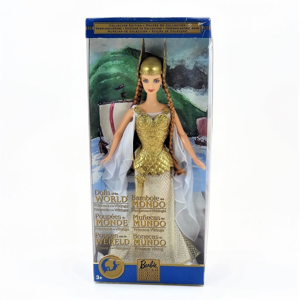 "Mattel Barbie Dolls of The World ""Princess of The Vikings"" 2001 #B6361 Collectors Edition"