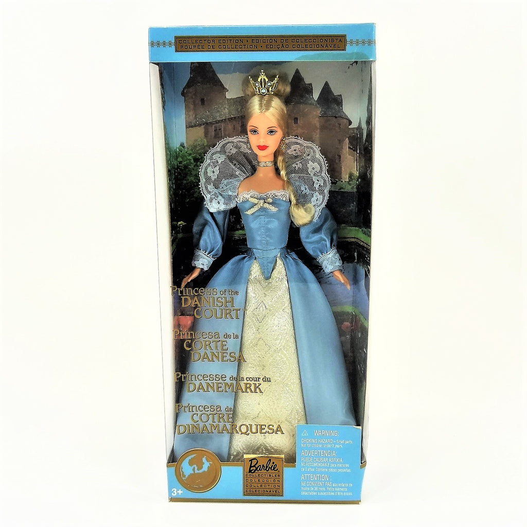 "Mattel Barbie Dolls of The World ""Princess of The Danish Court"" 2002 #56216 Collectors Edition"