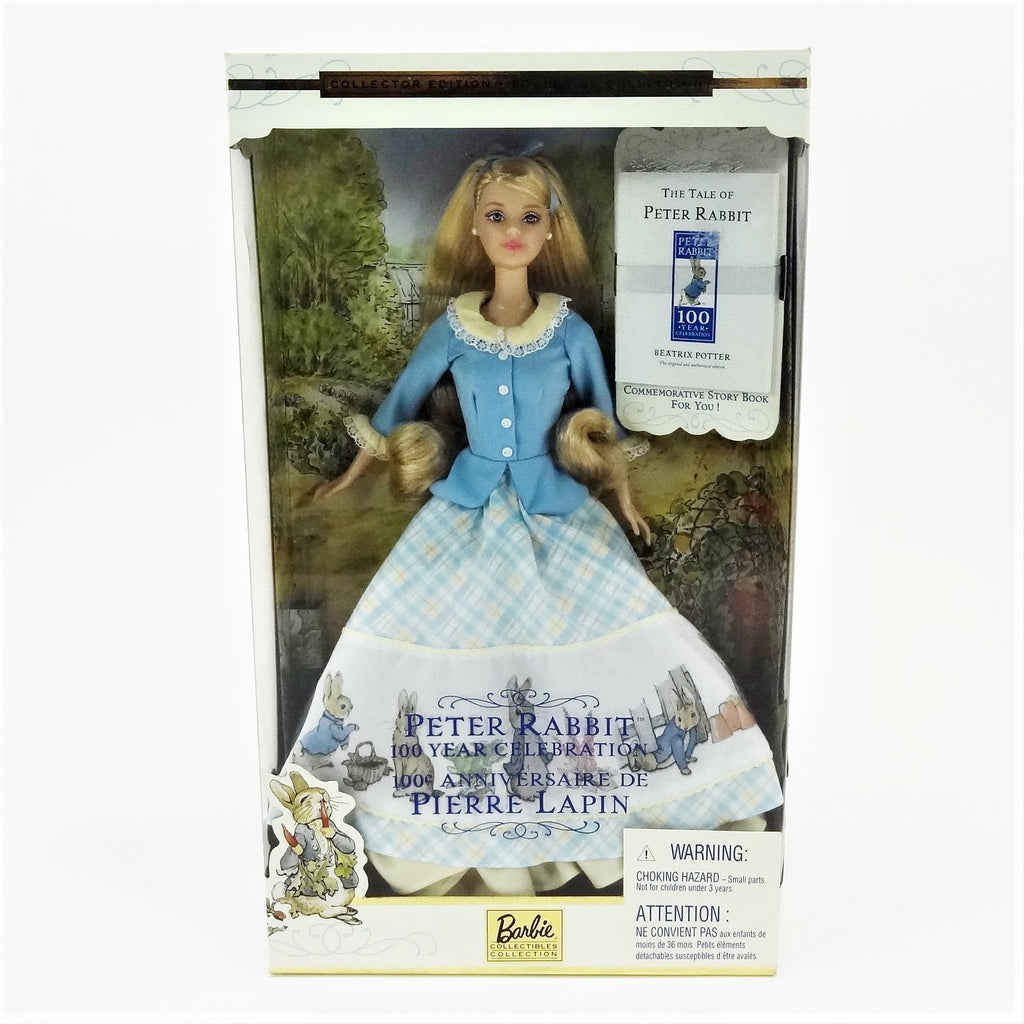 Mattel Barbie Peter Rabbit 100 Year Celebration 2001 #53872 Collectors Edition