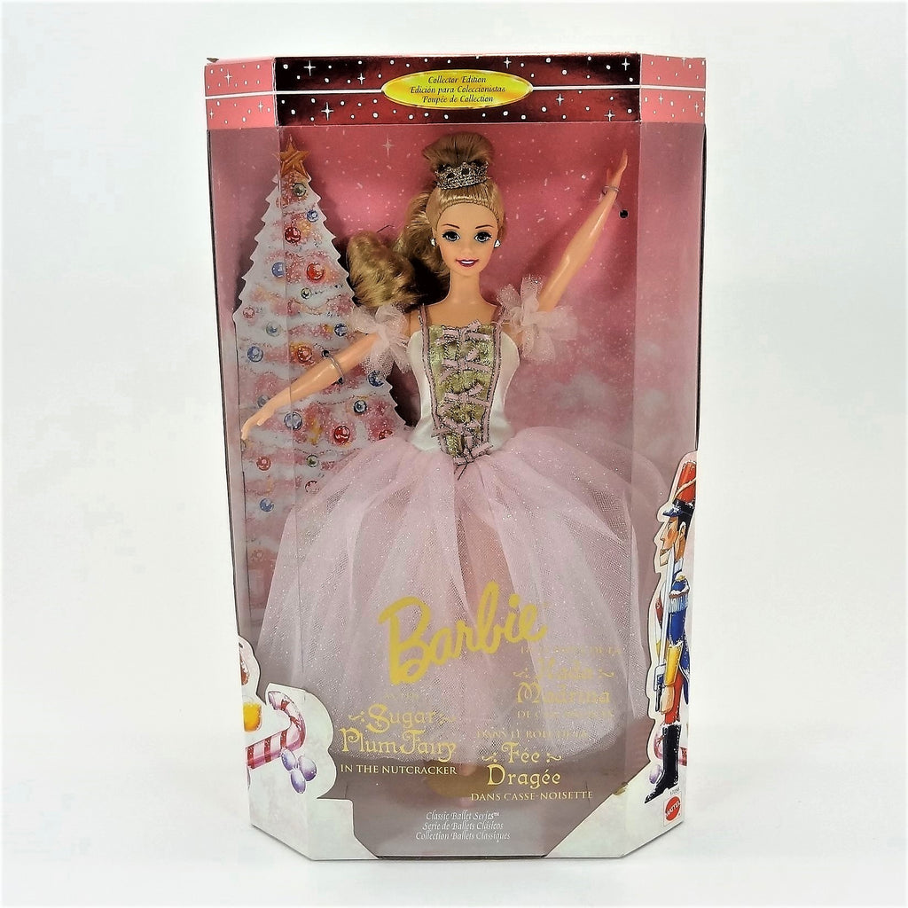 "Mattel Barbie Classic Ballet Series ""Sugar Plum Fairy"" From The Nutcracker 1997 #17056 Collectors Edition"