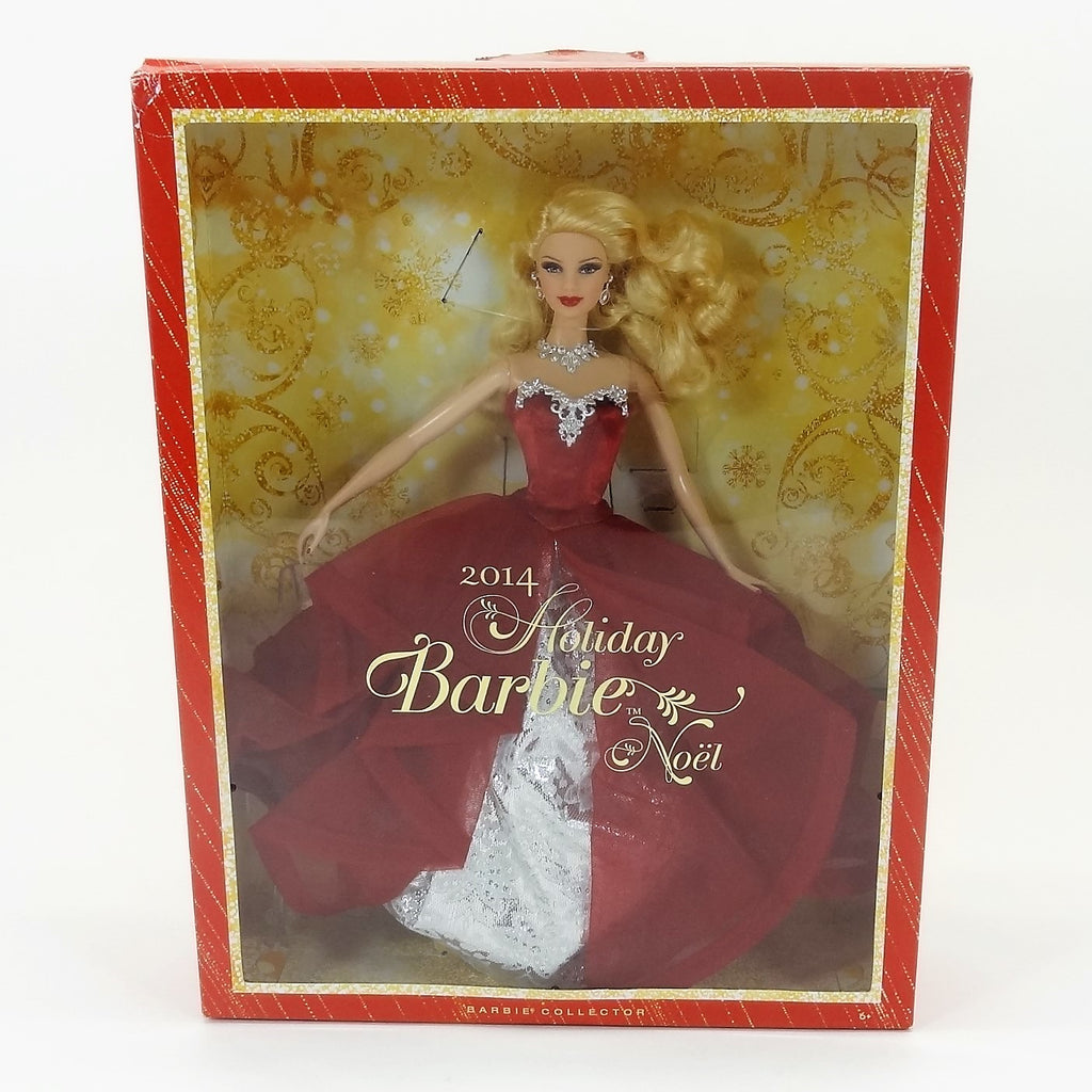Mattel Barbie 2014 Holiday Barbie #BDH13 Collectors Edition