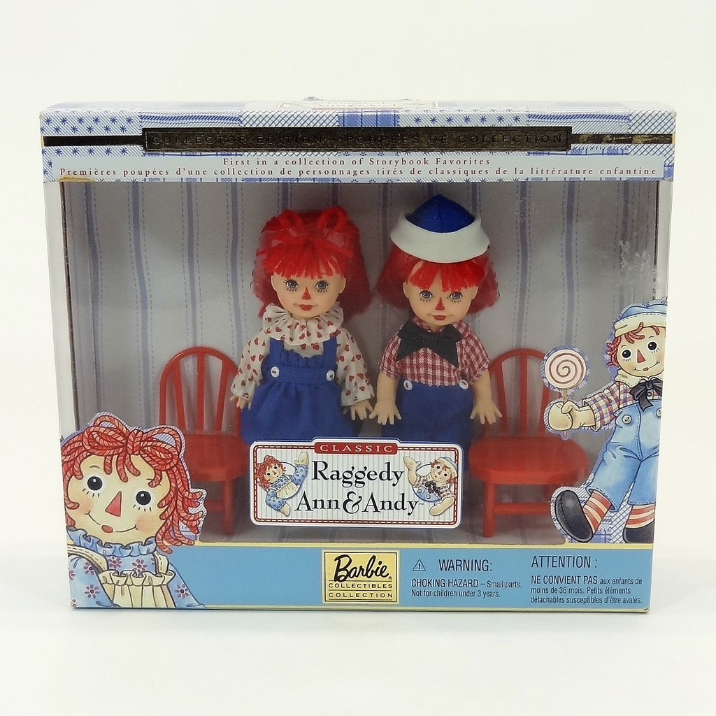 Mattel Classic Kelly & Tommy As Raggedy Ann & Andy Dolls Collector Edition #24639