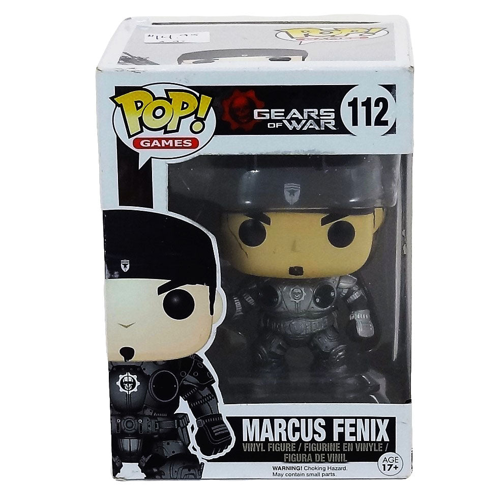 "Funko Pop Gears of War ""Marcus Fenix"" Vinyl Figure #112"