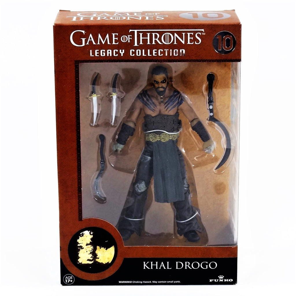Funko HBO Game of Thrones Khal Drogo Legacy Collection Action Figure #10 2014