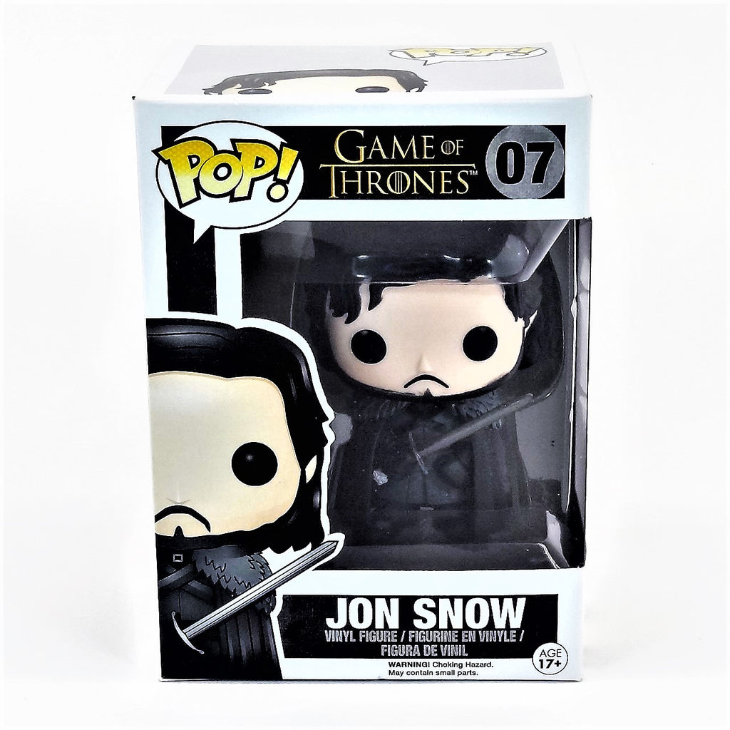 Funko Pop HBO Game of Thrones Jon Snow Vinyl Figure #07 2012