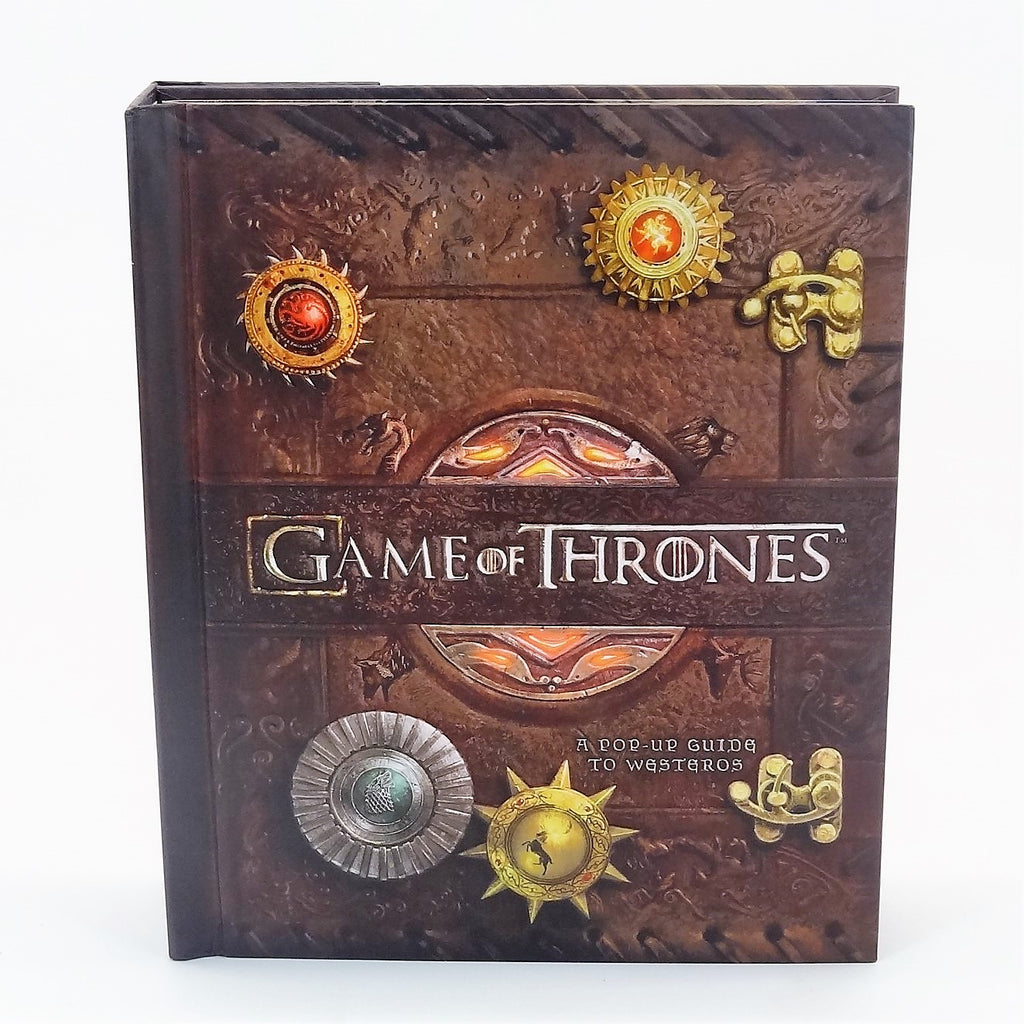 HBO Game of Thrones Insight Editions Pop-up Guide to Westeros Book 2014