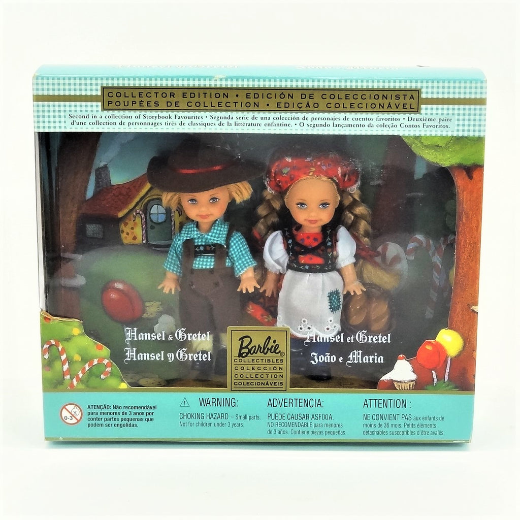"Mattel Barbie ""Hansel & Gretel"" Second in A Collection of Storybook Favorites 2001 #28535 Collectors Edition"