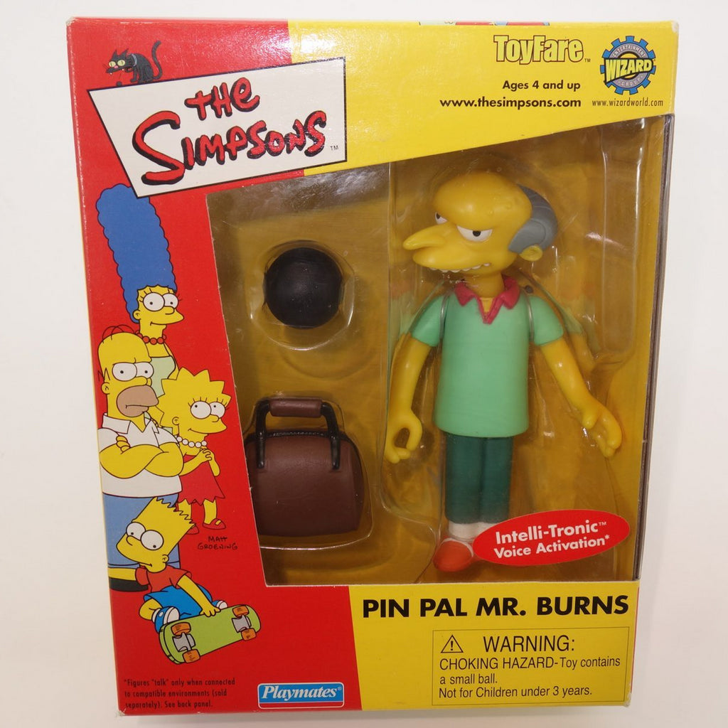 The Simpsons Pin Pal Mr