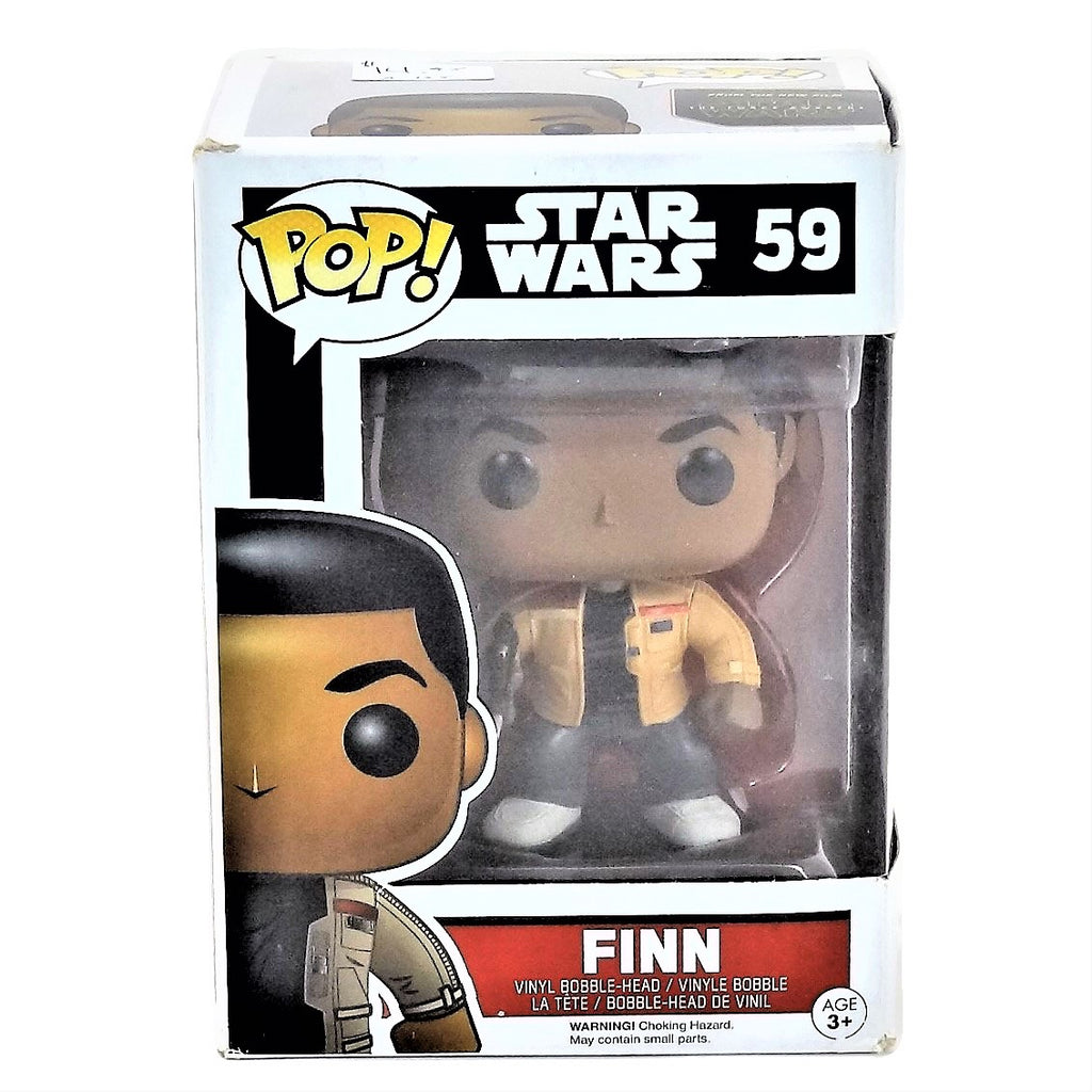 "Funko Pop Disney Star Wars ""Finn"" Vinyl Bobble-Head #59"