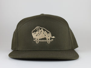 Military Green 7 Panel
