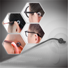 Round Comfort Glasses Retainers Anti-Slip