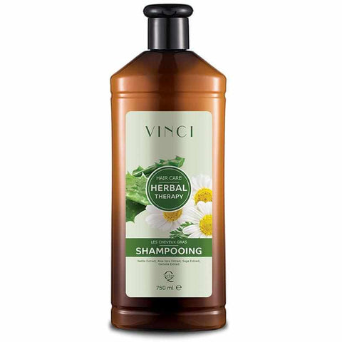 Herbal Therapy Shampoing cheveux gras - 750ML - Vinci Cosmétique