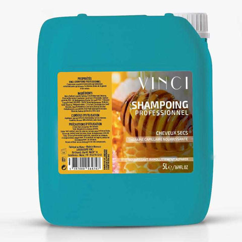 Shampoing  professionnel miel gourmand - 5L