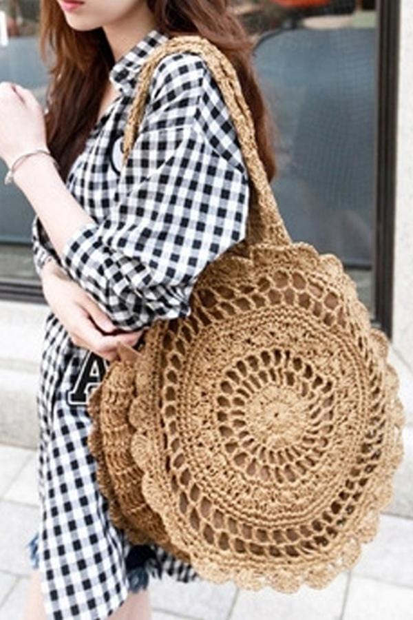 AREALOOK 🔥2019 Must Have Flower Round Shoulder Bag