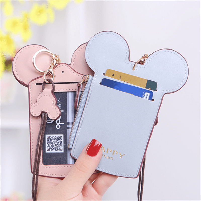 Cartoon Neck Strap Handbag Wallet