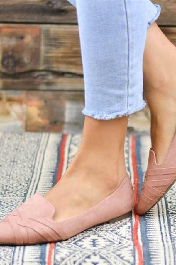 Fashion Versatile Pointed Flats