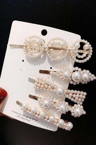 Net Red INS Pearl Hair Clip
