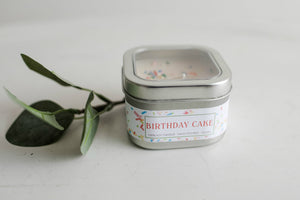 8oz Birthday Cake soy candle