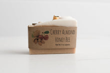 Load image into Gallery viewer, Cherry Almond Honey Bee soap