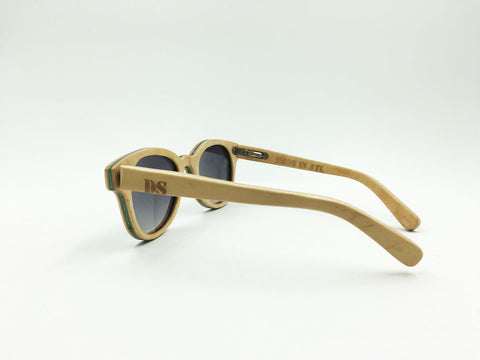 Deck Specks Double Kinks - Wood grain