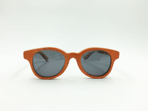 Deck Specks Double Kinks- Orange / Green / Wood grain