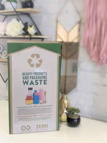 TerraCycle Zero Waste box beauty products and packaging