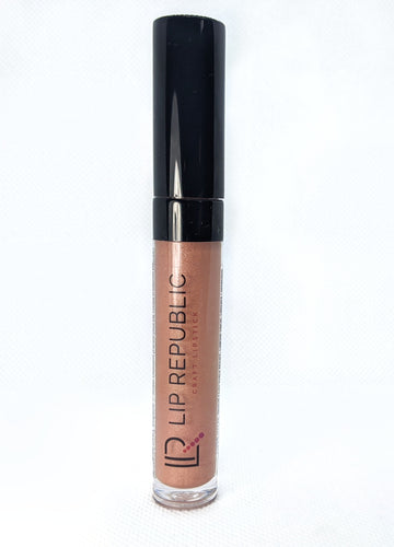 Nude Brown Shimmer Gloss