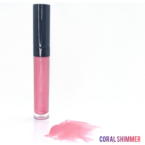 Coral Shimmer Gloss