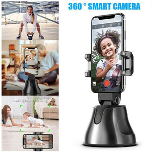 Click360™ Portable Auto Face Tracking Smart Shooting Holder for Smartphones (Android or IOS) + FREE GIFT