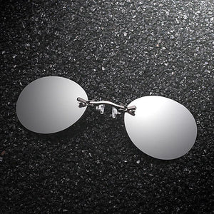 TICKR™ Rimless Clamp Glasses