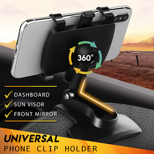 Universal Car Dashboard Phone Holder with 2 FREE Items
