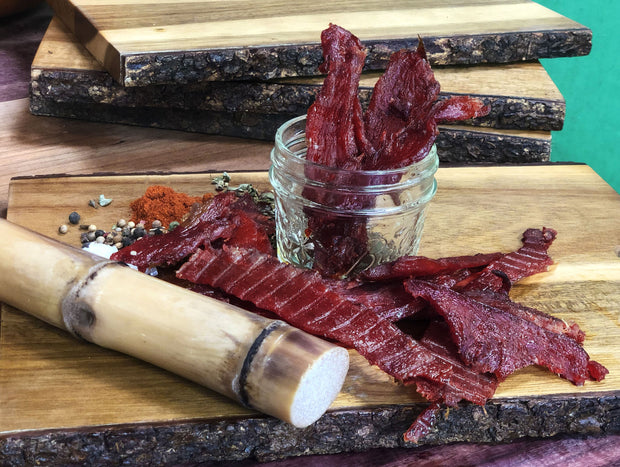 Korean Style BBQ Turkey Jerky