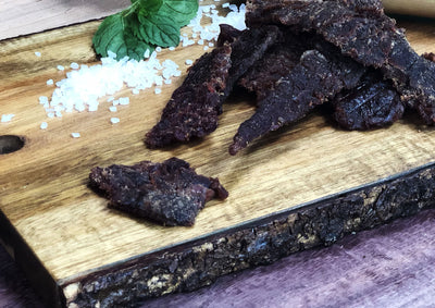 Sea Salt and Pepper Beef Jerky