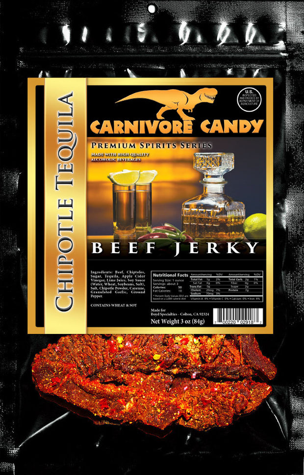 Chipotle Tequila Beef Jerky