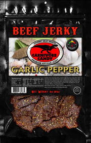 Garlic Peppered Beef Jerky