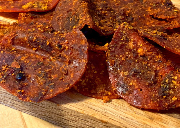 Straight Up Pepperoni Jerky
