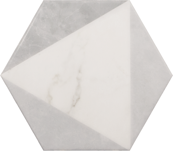 Carrara Hexagon Peak 7