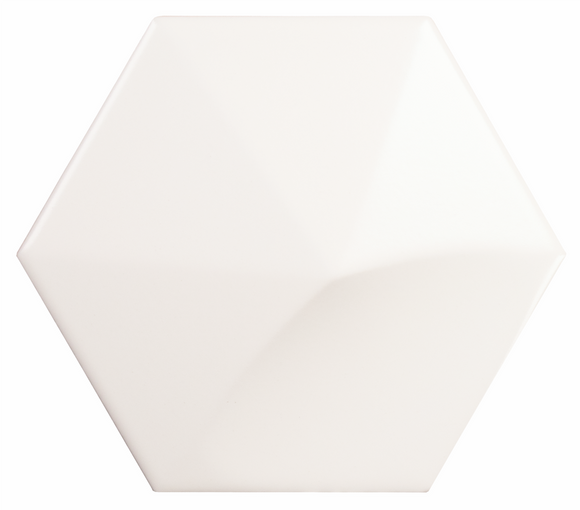 Hexagon Oberland White Matte 5