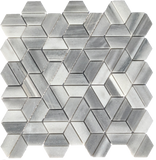 gray hexagon floor tile